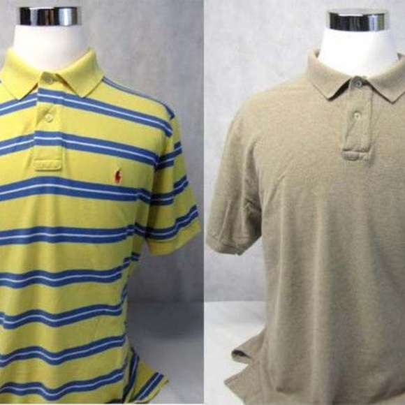 d4761080 Polo Ralph Lauren Small Pony Lot of 2 S/S Shirts